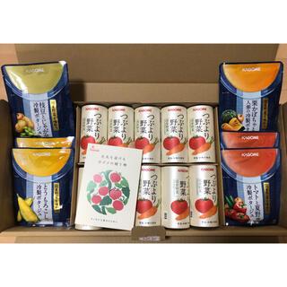 カゴメ(KAGOME)の[カゴメ]プレミアムギフトセット 野菜ジュース10本、スープ8袋(その他)