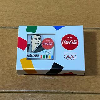 コカコーラ(コカ・コーラ)のコカコーラ 東京 オリンピック 鹿児島県 ピンバッジ Coca-Cola(ノベルティグッズ)