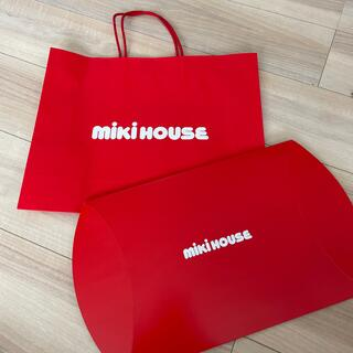 ミキハウス(mikihouse)のミキハウス 紙袋 箱(ショップ袋)