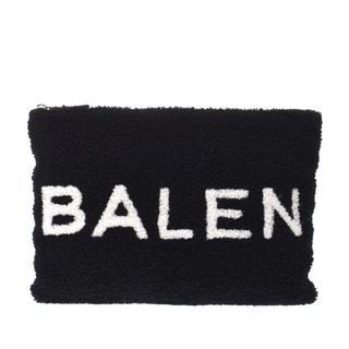 バレンシアガ(Balenciaga)のバレンシアガ  ロゴ クラッチバッグ 黒/白(クラッチバッグ)