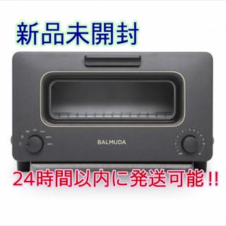 BALMUDA - 【新品未開封】バルミューダ スチームオーブントースター K01E‐KG ブラック
