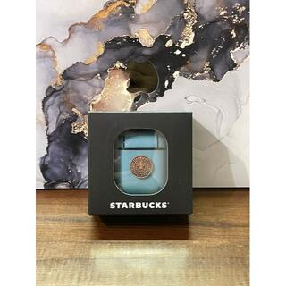 スターバックスコーヒー(Starbucks Coffee)のスターバックス スタバ台湾限定サイレンティファニブルーair pods (iPhoneケース)