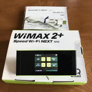 ファーウェイ(HUAWEI)のWiMAX2+  Speed Wi-Fi NEXT W05 (PC周辺機器)