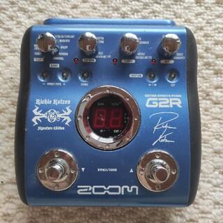 ズーム(Zoom)のZOOM G2R Richie Kotzen Signature Edition(エフェクター)