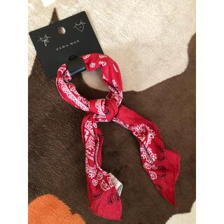 ザラ(ZARA)のZARA MAN  スカーフ(バンダナ/スカーフ)