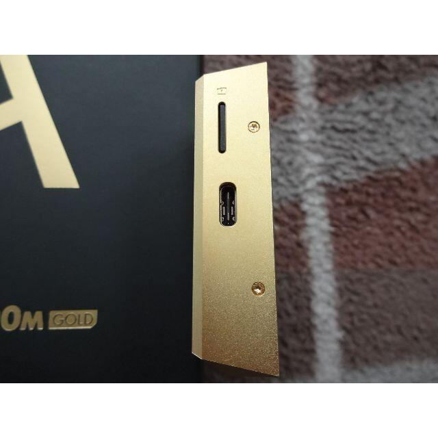 iriver(アイリバー)のSP1000M Royal Gold 200台限定モデル おまけ付き スマホ/家電/カメラのオーディオ機器(ポータブルプレーヤー)の商品写真