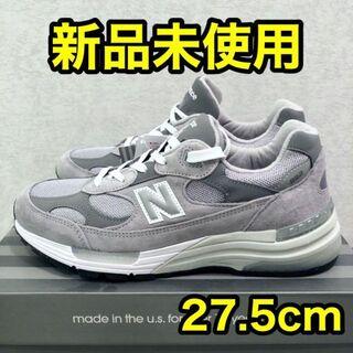 新品 27.5 国内正規品 NEW BALANCE M992GR(スニーカー)