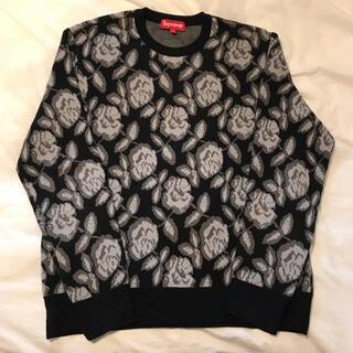 シュプリーム(Supreme)のSupreme Rose Sweater シュプリーム セーター 薔薇 バラ(ニット/セーター)