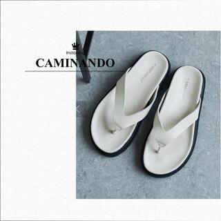 ガリャルダガランテ(GALLARDA GALANTE)のCAMINANDO カミナンド トングサンダル 37(サンダル)
