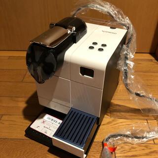 ネスレ(Nestle)の展示品 美品 Nespresso ラティシマ+(プラス) ホワイト(エスプレッソマシン)