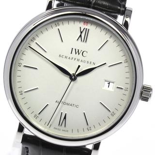インターナショナルウォッチカンパニー(IWC)の☆美品 IWC ポートフィノ デイト IW356501 メンズ 【中古】(腕時計(アナログ))