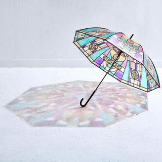 フェリシモ(FELISSIMO)の大正ロマンなステンドグラスの傘 雨傘(傘)