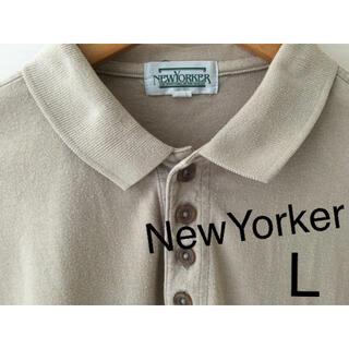 NEWYORKER - お値下げ❗️ニューヨーカー  ポロシャツ メンズ