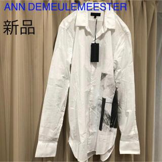 アンドゥムルメステール(Ann Demeulemeester)の新品タグ付き アンドゥムルメステール シャツ メンズ(シャツ)