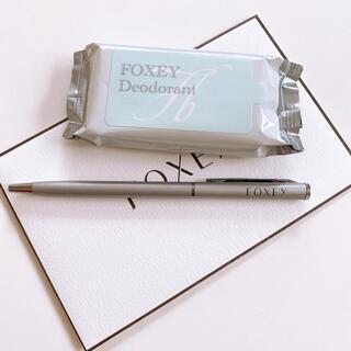 フォクシー(FOXEY)のフォクシー ボールペン デオドラント セット 新品未使用(ノベルティグッズ)