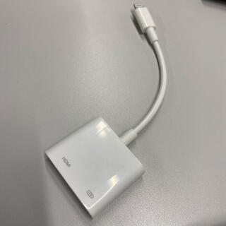 アップル(Apple)のLightningデジタルAVアダプタ(映像用ケーブル)