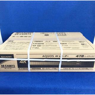 SHARP - SHARP 4B-C40BT3 4TB 3チューナー 4K ブルーレイレコーダー