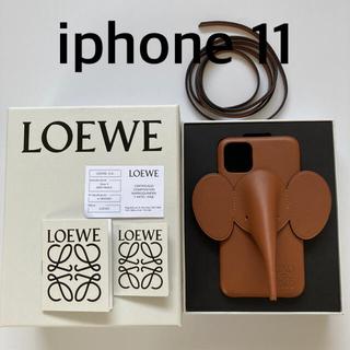 ロエベ(LOEWE)のLOEWE iphone11 レザーケース(iPhoneケース)