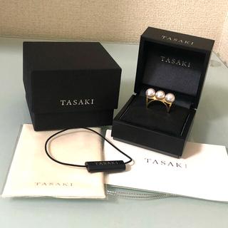 タサキ(TASAKI)のTASAKI タサキ バランス エラ リング イエローゴールド(リング(指輪))