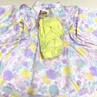 シマムラ(しまむら)の浴衣 90 アリエル ディズニー 未使用(甚平/浴衣)