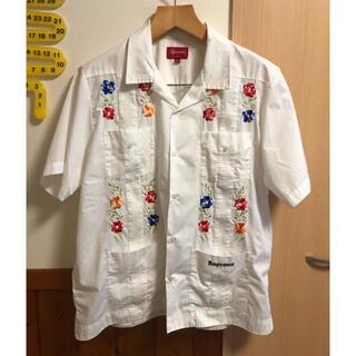 シュプリーム(Supreme)のSupreme flowers guayabera shirt(シャツ)