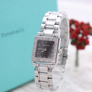 Tiffany & Co. - 正規品【新品電池】Tiffany& Co./アトラス スクエア 人気モデル 稼働