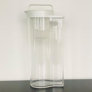 ムジルシリョウヒン(MUJI (無印良品))の無印 アクリル冷水筒(麦茶ポット)2リットル(旧タイプ)(容器)