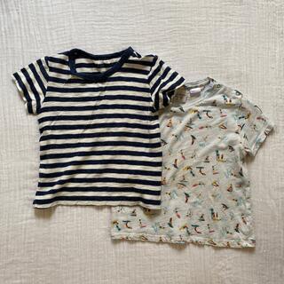 無印良品 ボーダー Tシャツ Zara BabyBoy Tシャツ サーフィン(Tシャツ/カットソー)