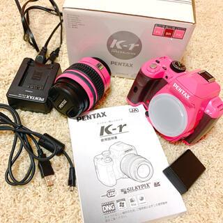 PENTAX - PENTAX k-r 本体ピンク グリップブラウン