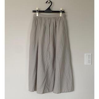 ドアーズ(DOORS / URBAN RESEARCH)のリネン麻ロングスカートポケット付き(ロングスカート)