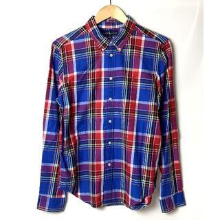 ラルフローレン(Ralph Lauren)のラルフローレン マドラスチェック 長袖シャツ BOYS(18-20) XL(シャツ)