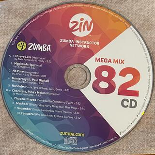 ズンバ(Zumba)のZUMBA mega mix CD 82(その他)