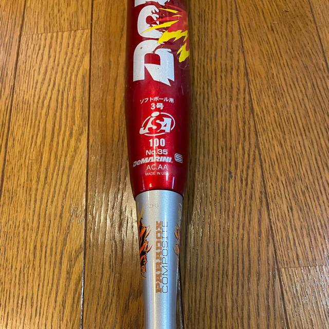wilson(ウィルソン)のふみ様専用 赤フェニ 14年 美品 スポーツ/アウトドアの野球(バット)の商品写真