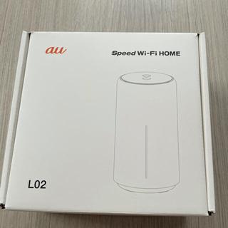エーユー(au)のau Speed Wi-Fi HOME WHITE L02(その他)