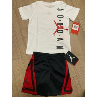 ナイキ(NIKE)の新品NIKEナイキエアジョーダンTシャツズボン上下セット90(Tシャツ/カットソー)