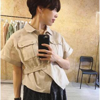 ロンハーマン(Ron Herman)のMEER. linen safari shirt(シャツ/ブラウス(半袖/袖なし))