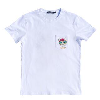 スタンダードカリフォルニア(STANDARD CALIFORNIA)のサーフブランド ☆LUSSO SURF サーフドッグ ポケットTシャツ Lサイズ(Tシャツ/カットソー(半袖/袖なし))