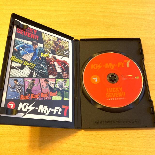 Kis-My-Ft2(キスマイフットツー)のKis-My-Ft2 キスマイスイッチ DVD エンタメ/ホビーのDVD/ブルーレイ(ミュージック)の商品写真