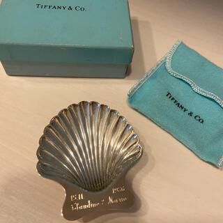 ティファニー(Tiffany & Co.)のティファニー シェル アクセサリートレー シルバートレイ 小物入れ(小物入れ)