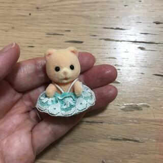 シルバニアファミリー、クマの赤ちゃん 服あり(キャラクターグッズ)
