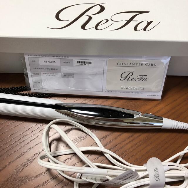 ReFa(リファ)のリファ ストレートアイロン美品 スマホ/家電/カメラの美容/健康(ヘアアイロン)の商品写真