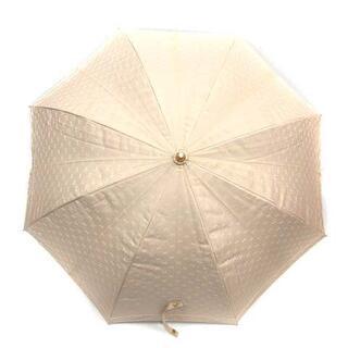 セリーヌ(celine)のセリーヌ CELINE 傘 雨傘 マカダム柄 総柄 ベージュ(傘)