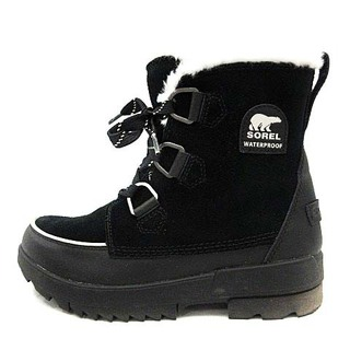 ソレル(SOREL)のソレル TIVOLI IV ショートブーツ ウィンターブーツ 25cm 黒(ブーツ)
