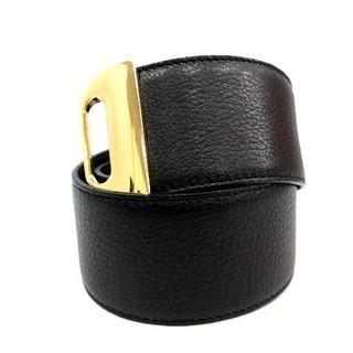 ドゥーズィエムクラス(DEUXIEME CLASSE)のドゥーズィエムクラス LOUISE ASSOMO ベルト 黒 ゴールド色(ベルト)