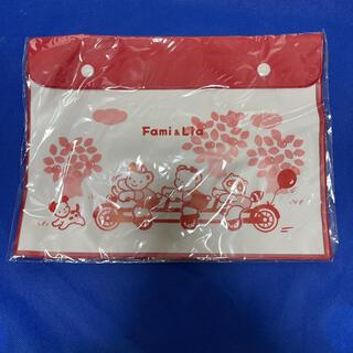 ファミリア(familiar)のファミリア クリアケース 連絡袋(その他)