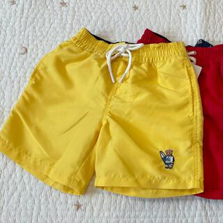 ポロラルフローレン(POLO RALPH LAUREN)のポロベア 水着 黄色(水着)