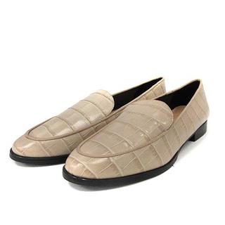 ファビオルスコーニ(FABIO RUSCONI)のファビオルスコーニ シューズ ローファー パンプス 36.5 ベージュ(ローファー/革靴)
