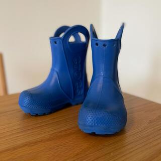 クロックス(crocs)のCROCS レインブーツ 長靴 C7 15cm 14cm 14.5cm(長靴/レインシューズ)
