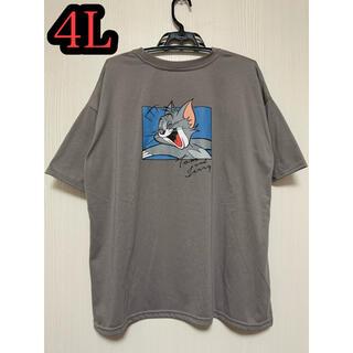 トムとジェリー Tシャツ 4Lサイズ  男女兼用 ポケT ポケットTシャツ(Tシャツ(半袖/袖なし))