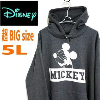 ディズニー(Disney)の90s DISNEY ディズニー  超ビッグサイズ  パーカー フーディー(パーカー)